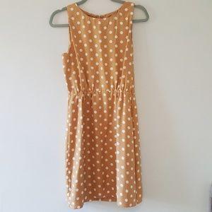 J.Crew Polka Dot Beige Dress 4